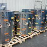 Calorifuge encapsulé - préfabrication double enveloppe