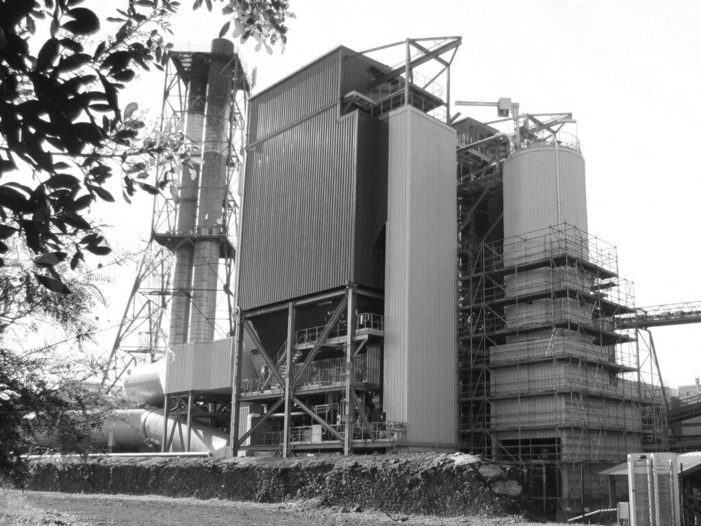 Bardage sur centrale biomasse